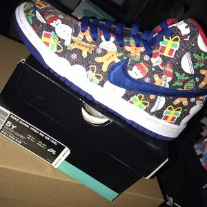 Nike Ugly Sweater Concepts Dunk 2017 NIB size 5 GS